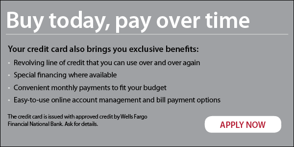 Wells Fargo Finance Online Application